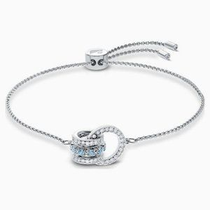 Swarovski further bracelet, blue